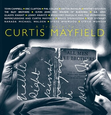 Various - Tribute To Curtis Mayfield (Blue/grey) [2LP]