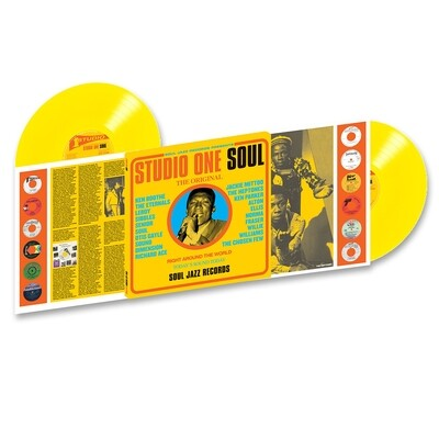 Various: Soul Jazz - Studio One Soul (Yellow) [2LP]