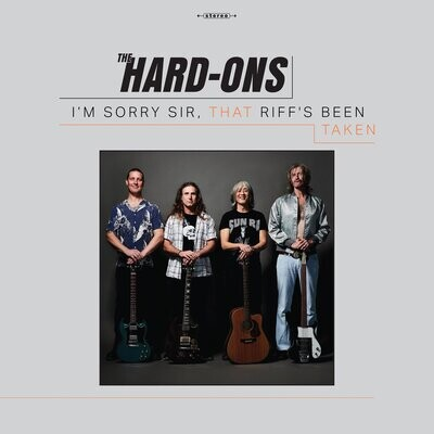 Hard-Ons - I'm Sorry Sir That Riff's Been Taken (Clear) [LP]
