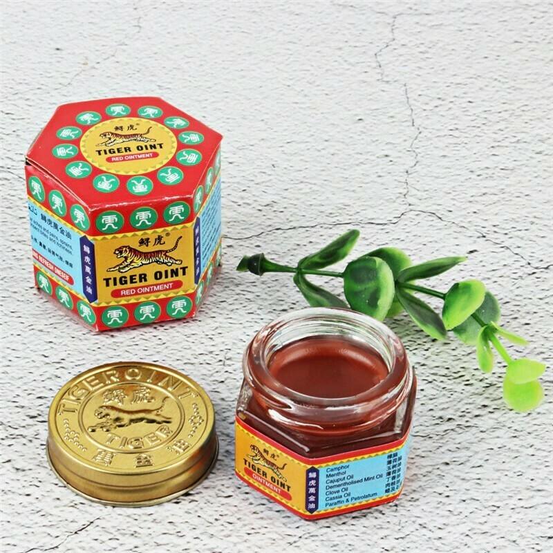 Κινέζικη θεραπευτική Αλοιφή Essential Wild Tiger Ointment Κόκκινη