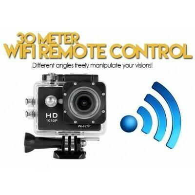 Action Camera SPORTS HD DV 1080p 12MP με WiFi