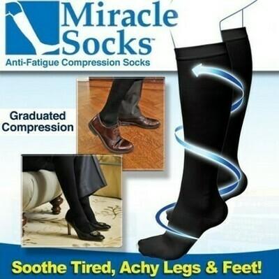 Κάλτσες Διαβαθμισμένης Συμπίεσης για Ανακούφιση από Πόνους & Πρηξίματα