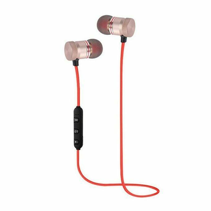 Μαγνητικά ασύρματα αθλητικά ακουστικά γυμναστικής Universal Bluetooth
