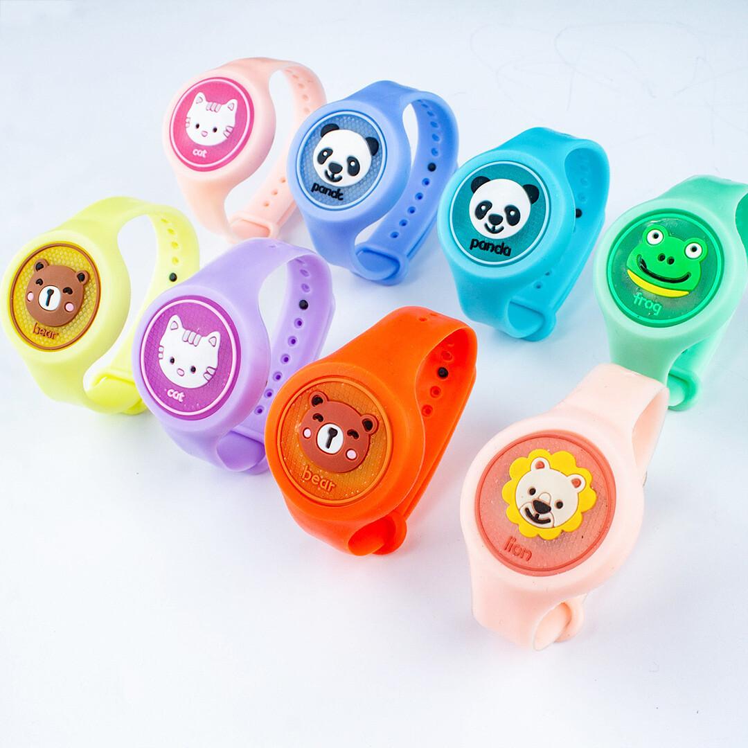 Εντομοαπωθητικό βραχιολάκι για παιδιά με LED