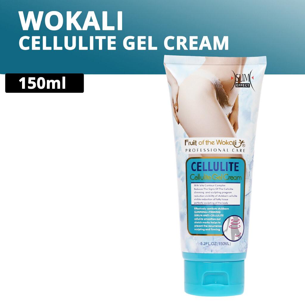Wokali Τζελ Κυτταρίτιδας και Αδυνατίσματος 150ml