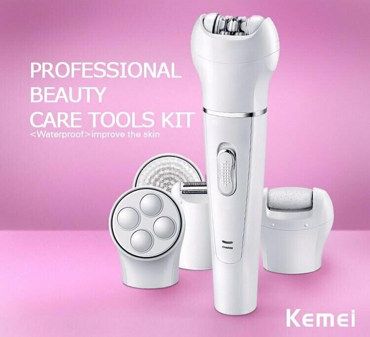 Συσκευή Περιποίησης Ομορφιάς 5 σε 1 - KM-2199 της Kemei