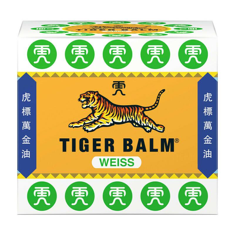 Κινέζικη θεραπευτική Αλοιφή Tiger Balm ® White Λευκή