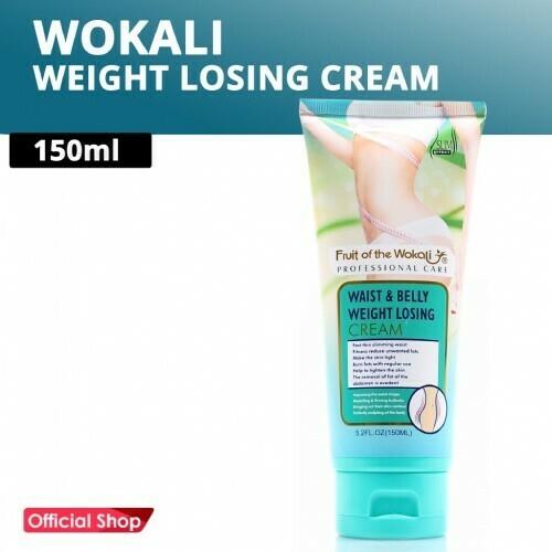 Wokali Τζελ Κυτταρίτιδας και Αδυνατίσματος Μέσης και Κοιλιάς 150ml