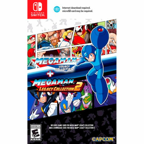 Switch Megaman Legacy Collection
