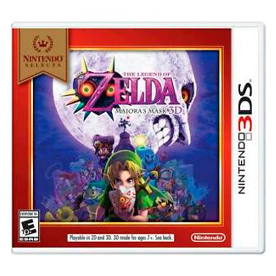 3DS Zelda Mayoras mask