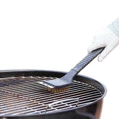 Cepillo y raspador para asador
