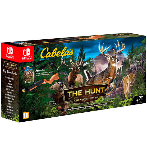 Switch Cabelas the hunt + Pistola