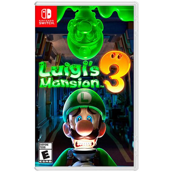 Switch Luigis Mansion 3