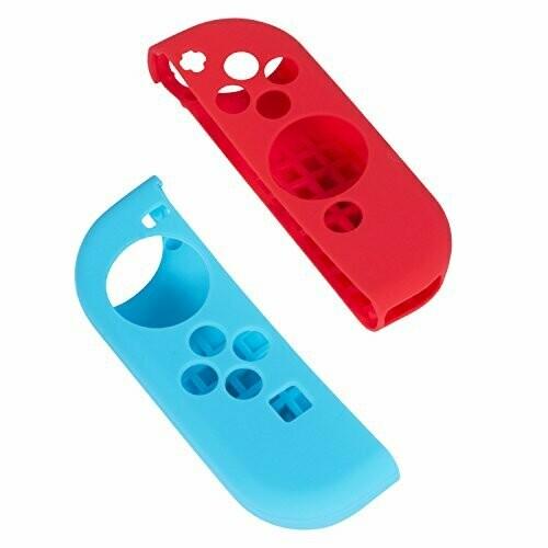 Switch Estuche para joy-con Rojo y azul (X2)