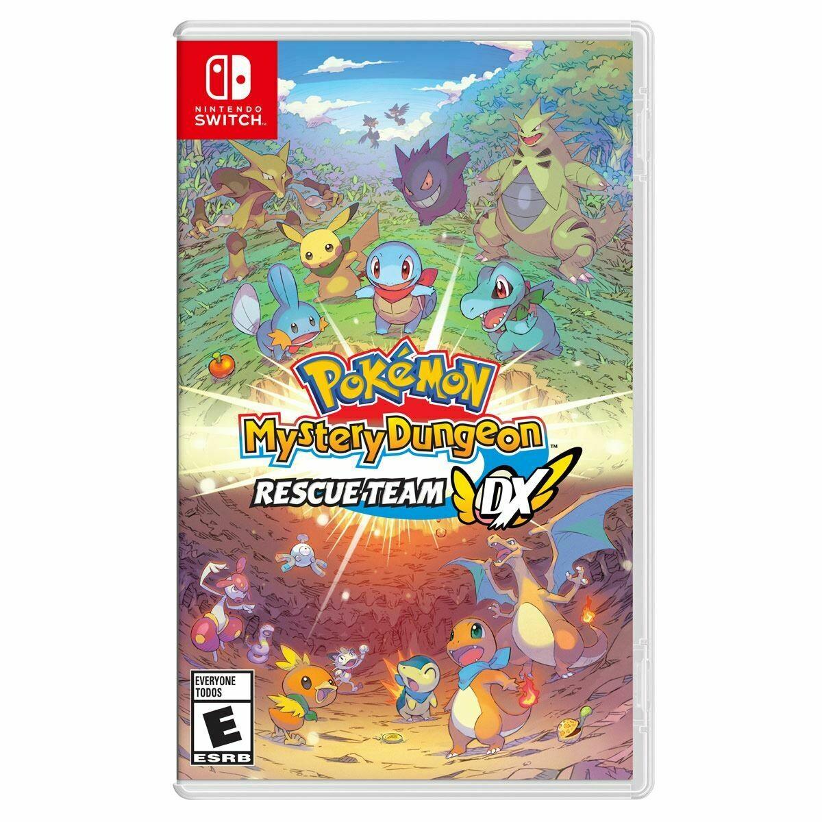 Switch Pokemon Mistery Dungeon Rescue team DX