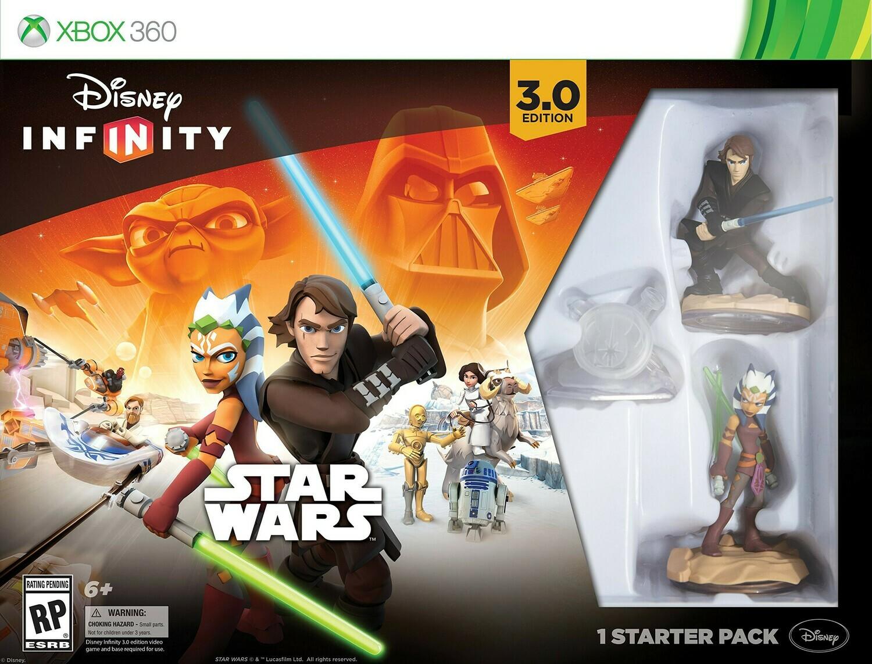 XBOX 360 INFINITY 3 Star Wars STARTER PACK