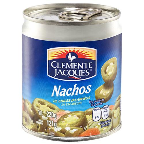 Nachos de chile jalapeno 220 Gr