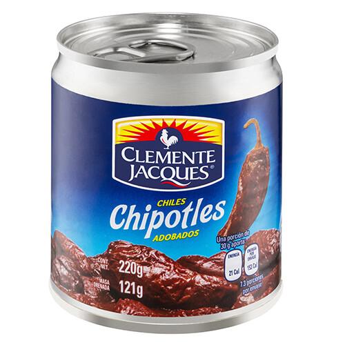 chiles chipotles adobados 220 Gr