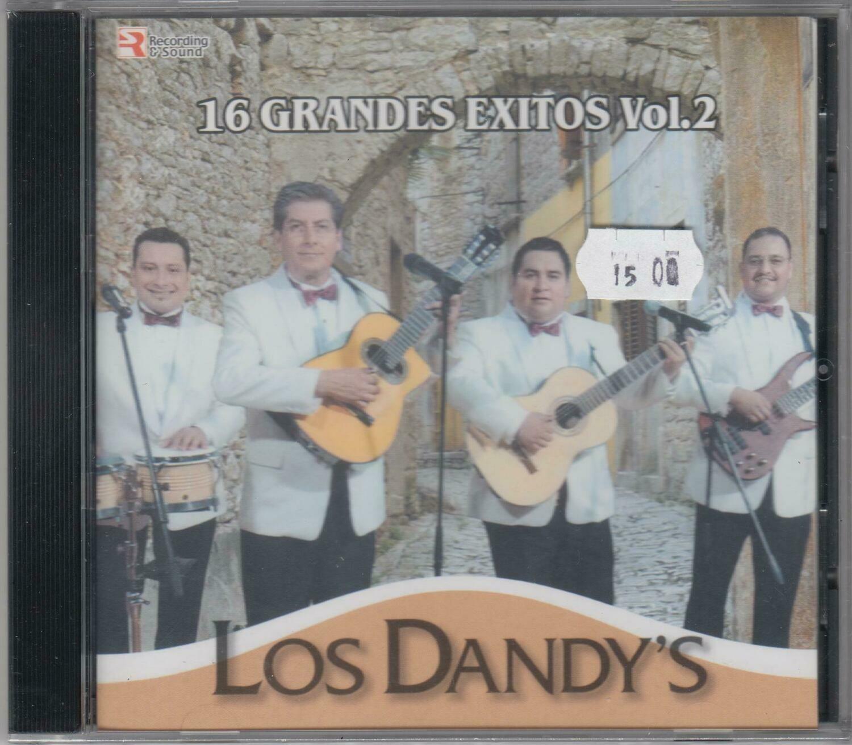 CD Los Dandys 16 grandes exitos Vol.2