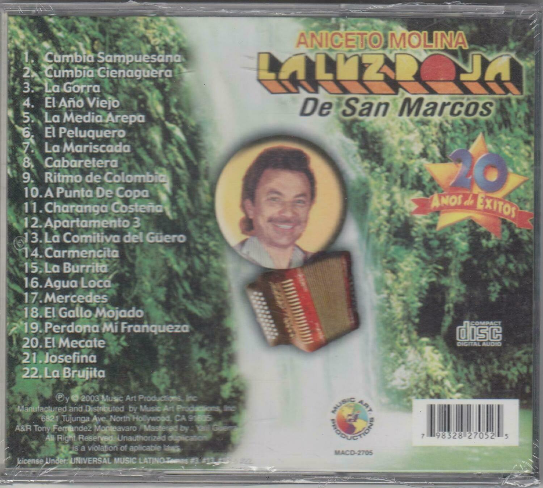 CD Aniceto Molina La luz roja de San marcos