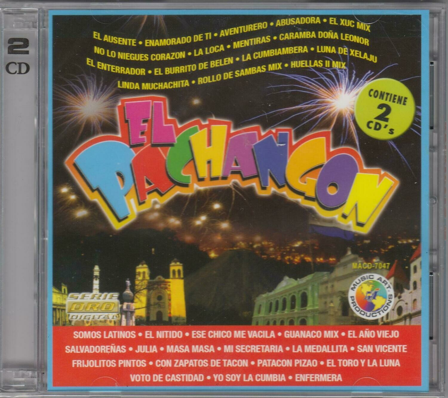 CD El Pachangon Contiene (2 cds)