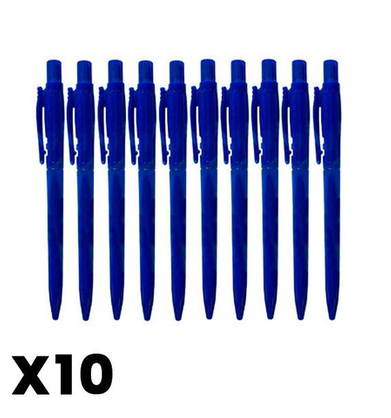 Lapiceros (10 unidades)