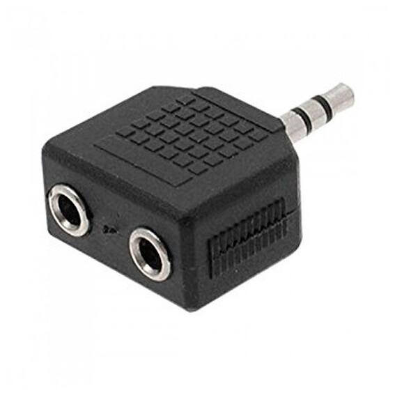 Adaptador Audio 2 a 1