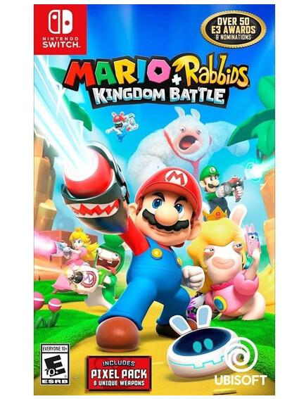 Switch Mario + Rabbids Kingdom