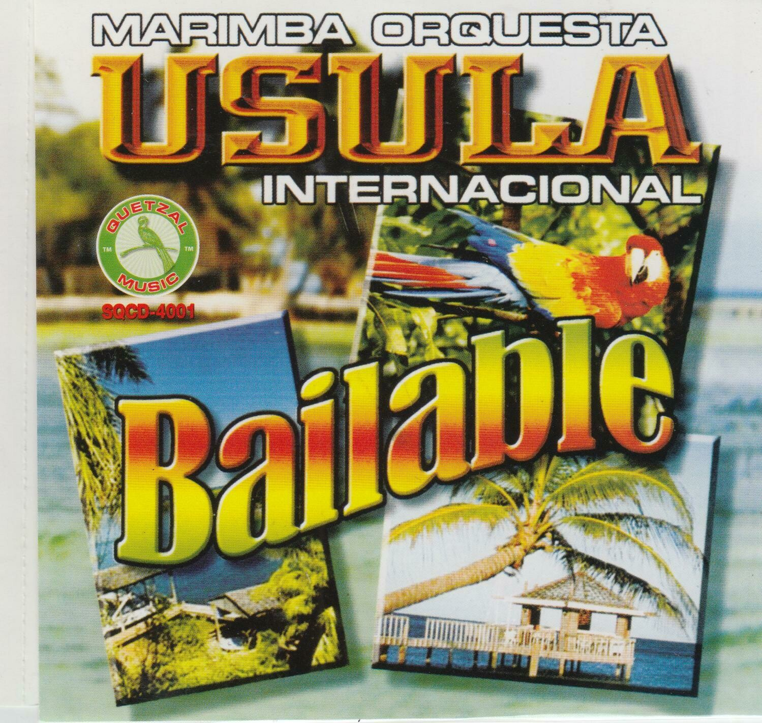 CD Marimba orquesta Usula Internacional