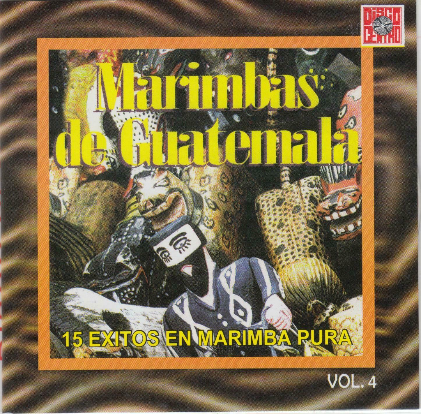 CD Marimbas de Guatemala - 15 Exitos
