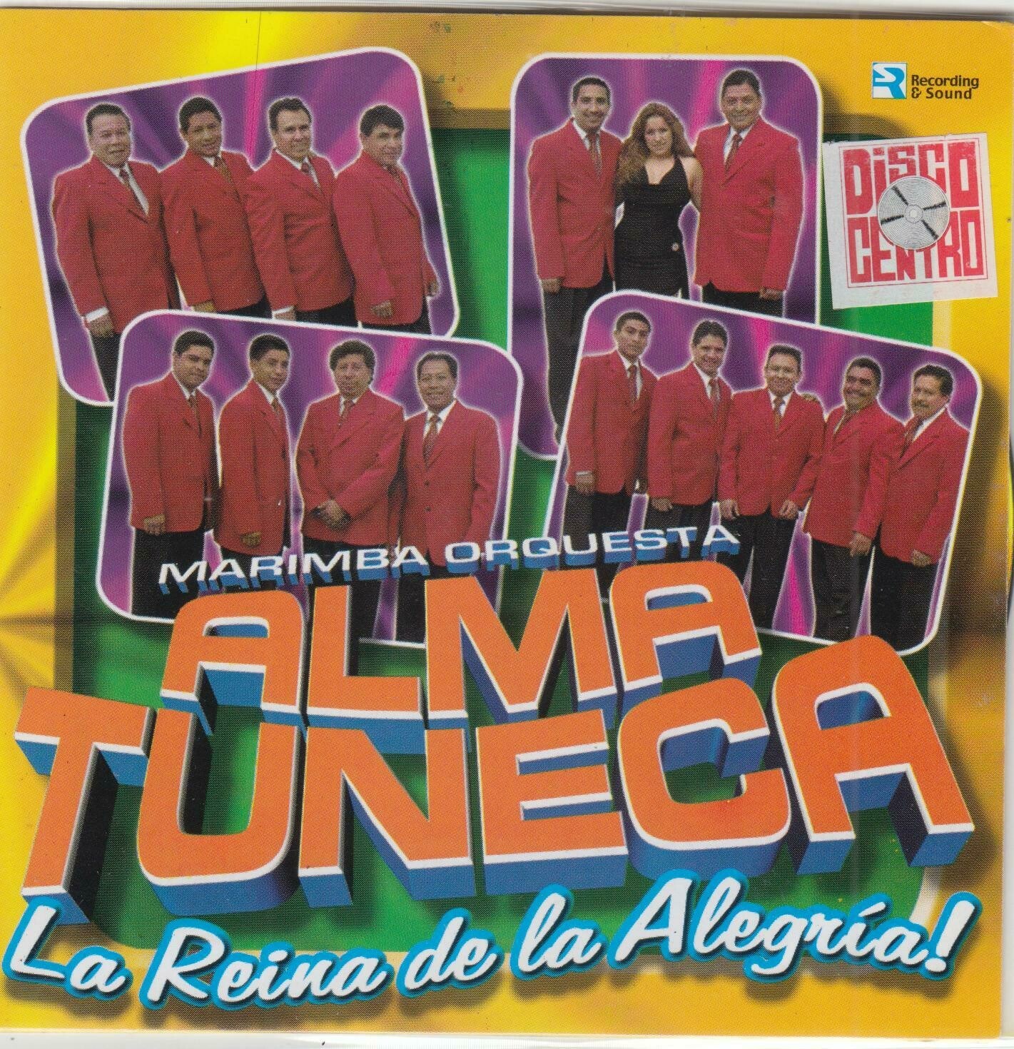 CD Marimba Orquesta Alma tuneca - La reina