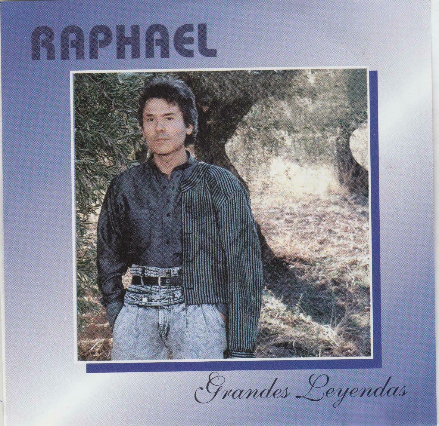 CD Raphael  - Grandes leyendas