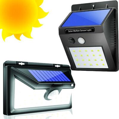 Lampara solar LED desde