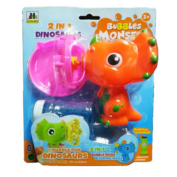 Burbujas Dinosarurio 2 en 1