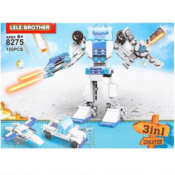 Robot 3 en 1 (155 piezas)