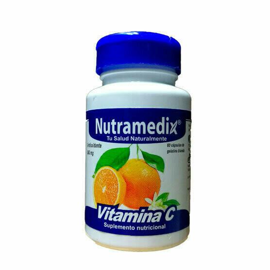 Vitamina C 500mg (60 unidades)