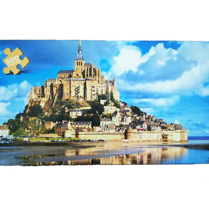Rompecabezas 500 Piezas Abadia Francia