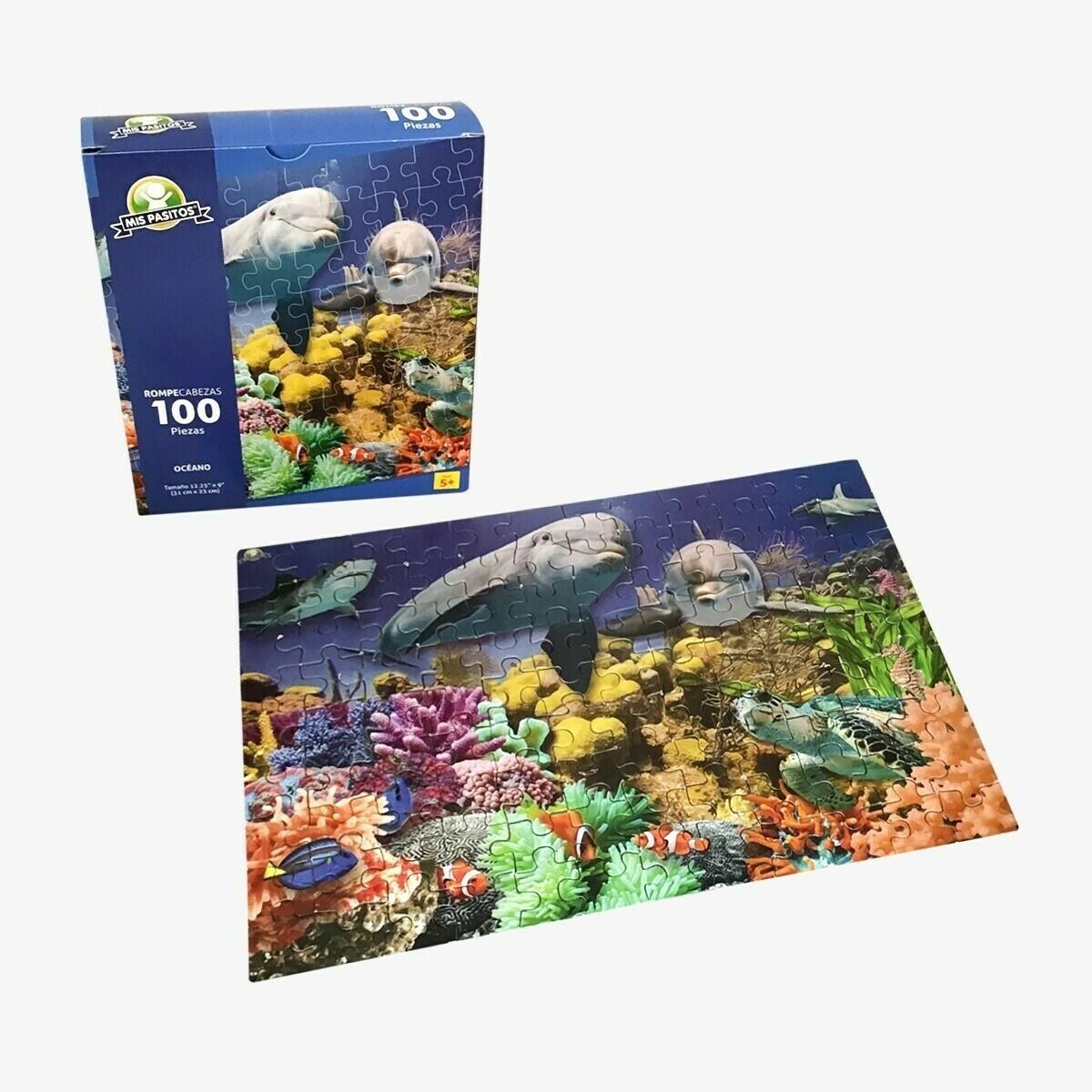 Rompecabezas 100  Piezas - Oceano