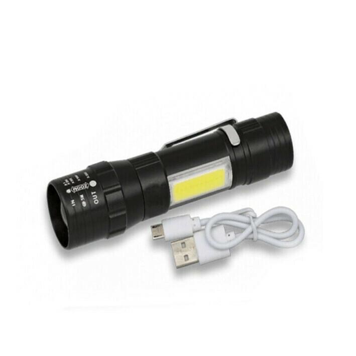 Linterna LED Tactica Recargable