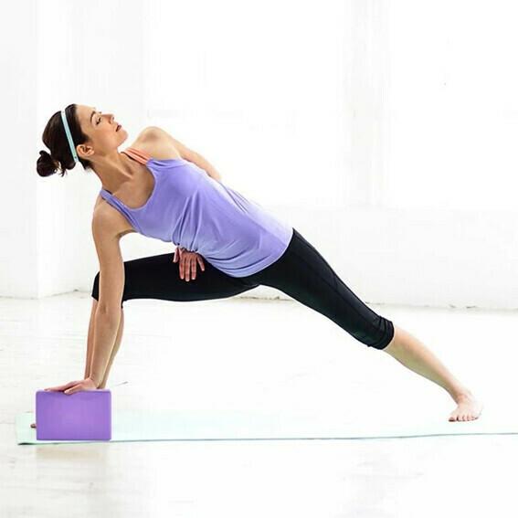 Yoga Block Azul