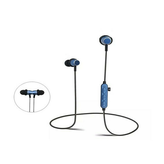 Audifono Bluetooth Sport Azul