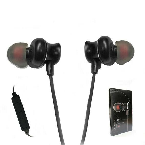 Audifono Bluetooth Sport Negro