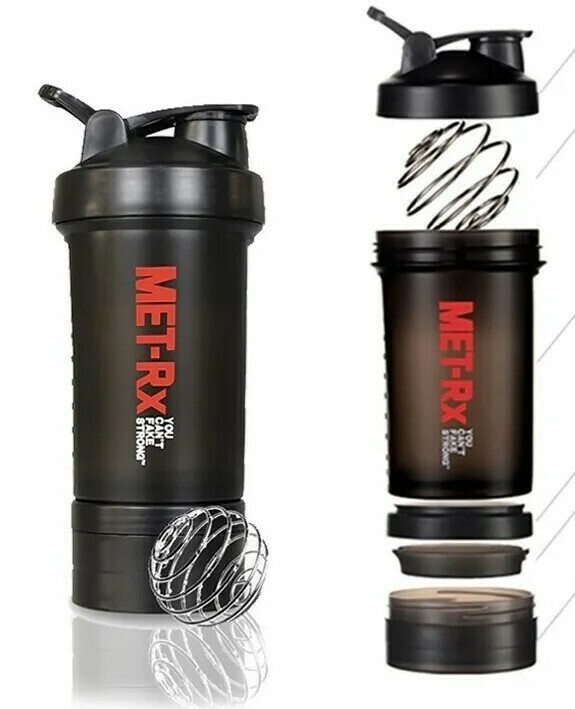 Pachon Shaker Met-Rx - Negro