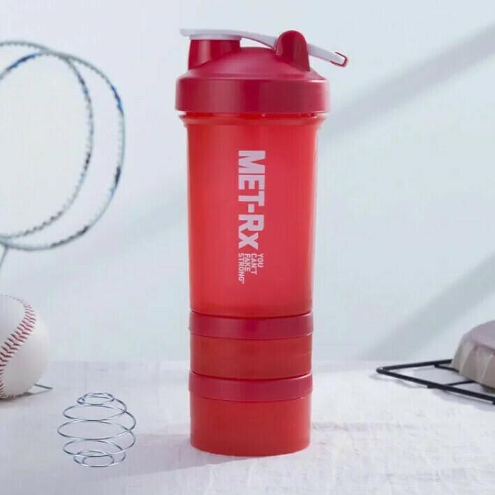 Pachon Shaker Met-Rx - Rojo