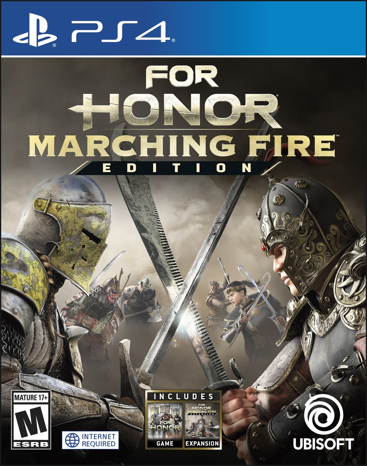 PS4 For Honor Marching Fire Edition