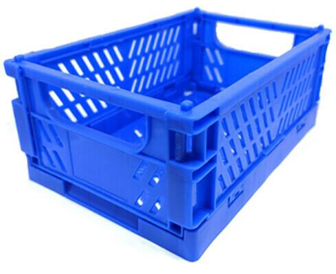 Caja Doblable Plastica - Azul