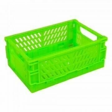 Caja Doblable Plastica - Verde