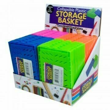 Caja Doblable Plastica - Rosado
