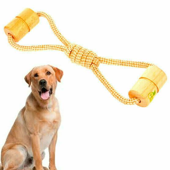 Juguete para perro - Cilindros con lazo