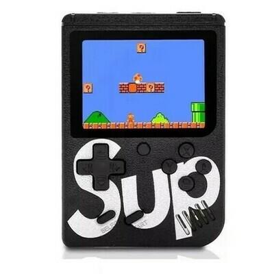 Consola Retro 400 juegos+Tv - Negra